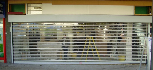 Access Group Uk Shop Front Security